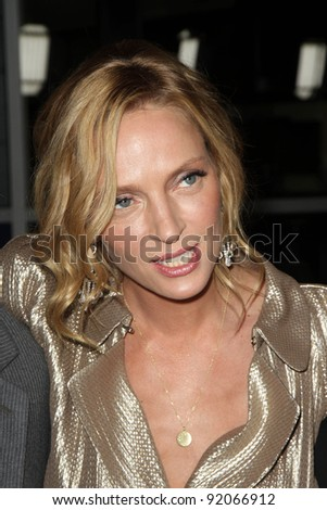 "Uma Thurman  at the ""Ceremony"" Los Angeles Premiere, Arclight, Hollywood, CA. 03-22-11"