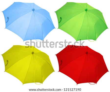 Umbrella Collection - stock photo