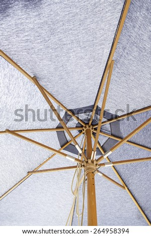 Umbrella fabric - stock photo