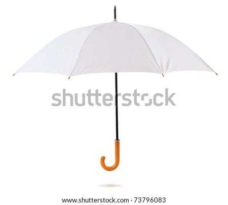 Umbrella. Isolated - stock photo