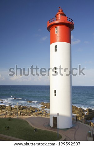 Umhlanga, Lighthouse in Durban, South Africa