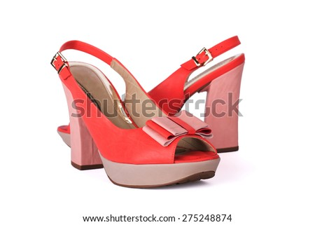 Unbranded new woman shoe isolated on white