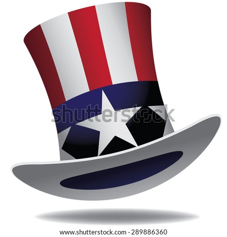 Uncle Sam Hat.  - stock photo