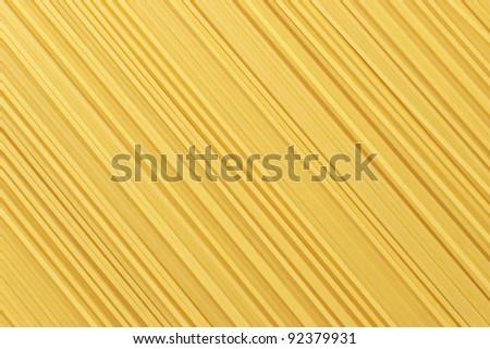 uncooked pasta - stock photo
