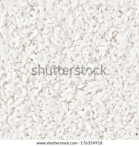 Uncooked Rice Texture - stock photo