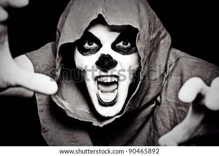 undead attacks - stock photo