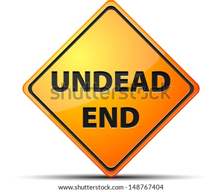 Undead End - stock photo