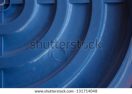 Under side of the basin - stock photo