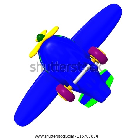 Under view flying  airplane at sky heights - stock photo