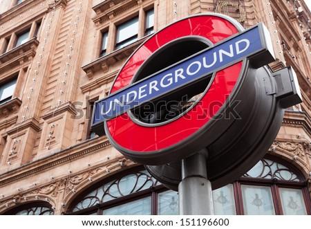 Underground - stock photo