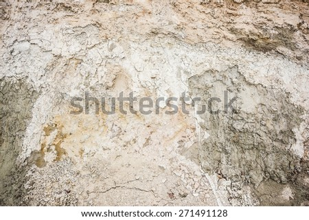 Underground layer sand section texture. - stock photo