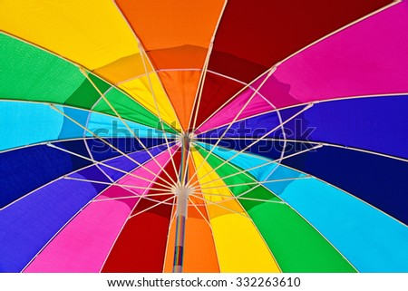 stock-photo-underneath-view-of-a-colorfu