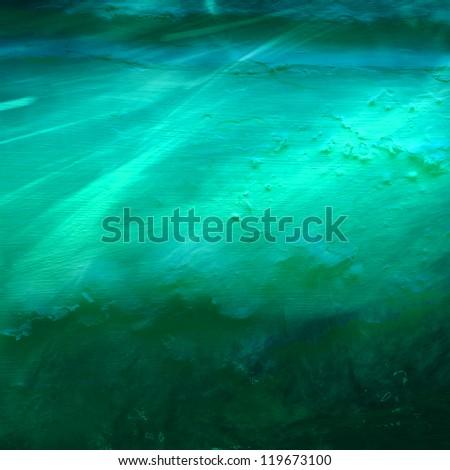 underwater background, undercurrent - stock photo