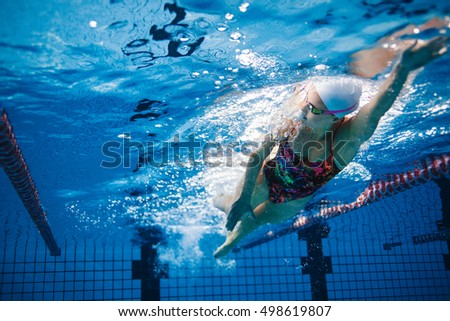 Swimming Pool Underwater Stock Images Royalty Free Images