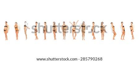 Underwear Idea Big Group  - stock photo