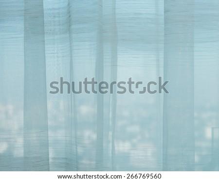 undulate light of soft chiffon texture background - stock photo