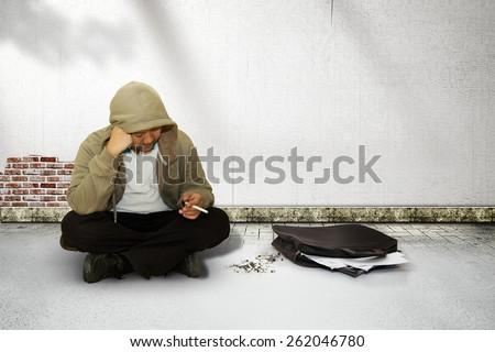 unemployment, concept - stock photo