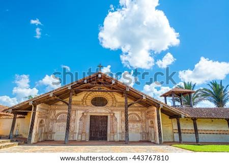UNESCO World Heritage Jesuit Mission in San Javier, Bolivia - stock photo