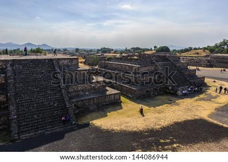 UNESCO World Heritage Site, Pre-Hispanic City of Teotihuacan, Mexico - stock photo
