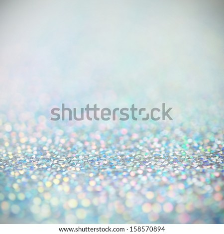 Unfocused abstract holiday bokeh background - stock photo