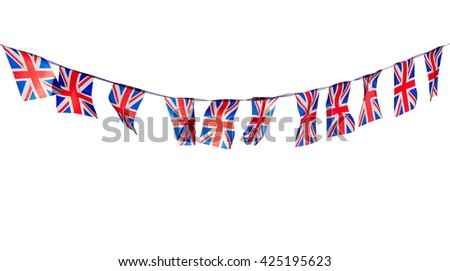 Union Flag Bunting Cut Out
