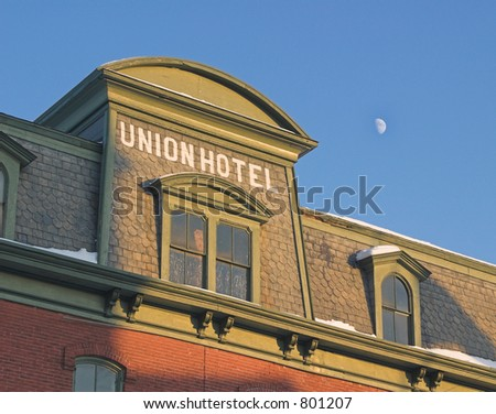 Union Hotel - stock photo