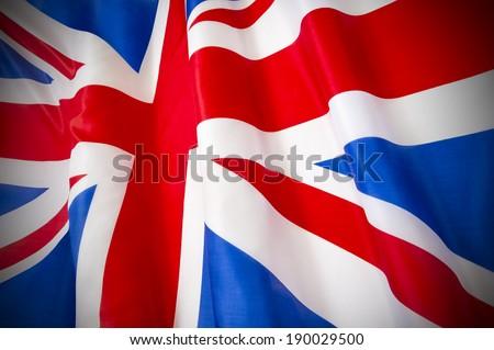 Union Jack Flag - stock photo
