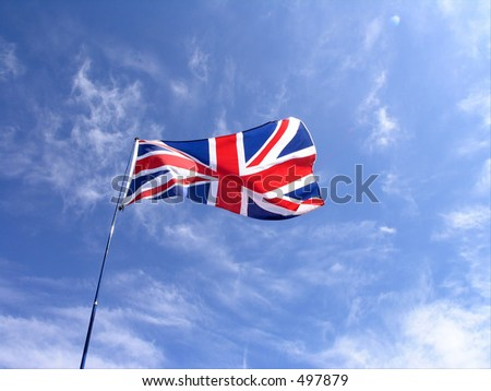 Union Jack UK national flag.