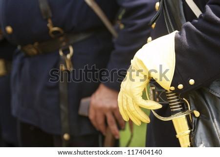 union officer - stock photo