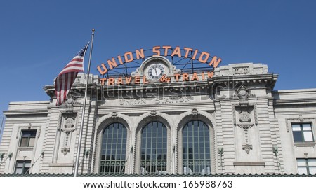 Union Station in Denver, Colorado.