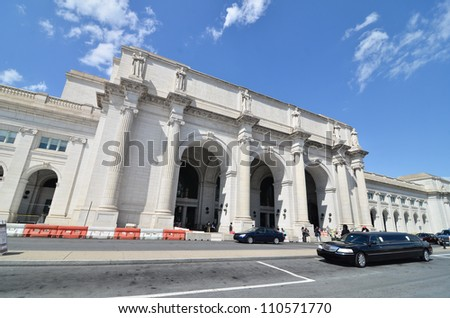 Union Station in Washington DC - stock photo