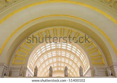 Union Station, Washington, DC - stock photo