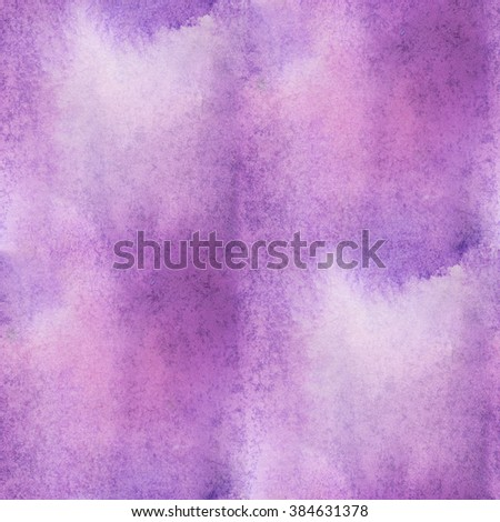 unique  abstract seamless purple watercolor water color pattern brush painting watercolour background