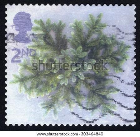 UNITED KINGDOM - CIRCA 2002: A stamp printed in the United Kingdom devoted Christmas , circa 2002 - stock photo