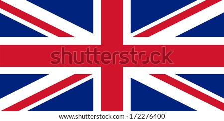 United Kingdom Flag - Union Jack. - stock photo