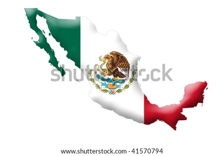 United Mexican States - stock photo