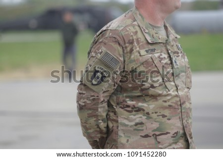 United States Air Force Symbol On Stock Photo Edit Now 1091452280