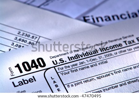 United States American Irs Internal Revenue Stock Photo Royalty