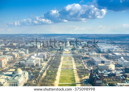 United States Capitol - stock photo