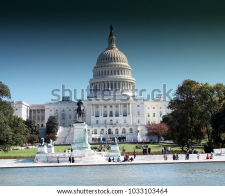 United States Capitol Building in Washington DC