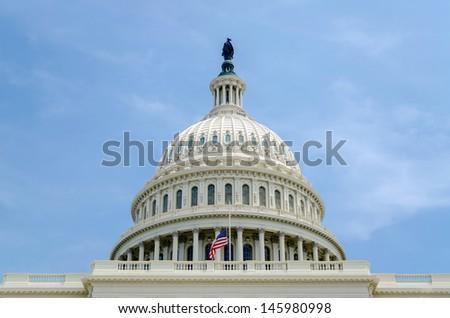United States Capitol building, Washington DC, USA - stock photo