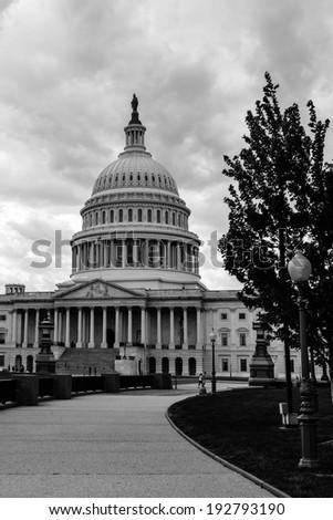 United States Capitol - Washington D.C. USA - stock photo