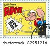 UNITED STATES - CIRCA 1995: A stamp printed by United states, shows Comic Strips, Popeye, circa 1995 - stock photo