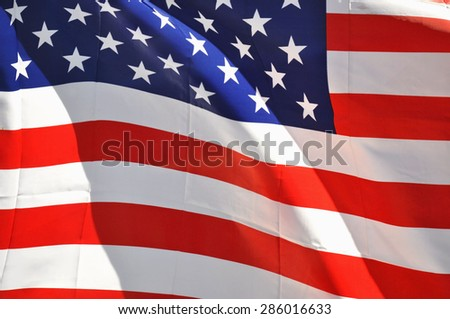 United States flag useful as a background pattern