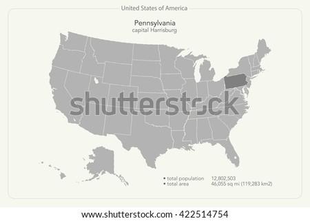 Pennsylvania State Maps USA Maps Of Pennsylvania PA Pennsylvania - Us map pennsylvania state