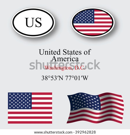 united states of america set against gray background, abstract art illustration, image contains transparency