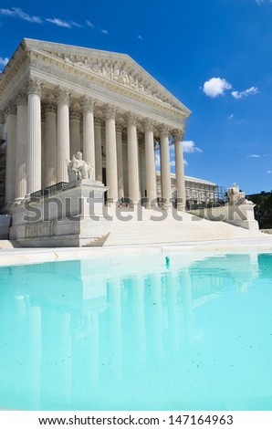 United States Supreme Court Building in Washington, DC