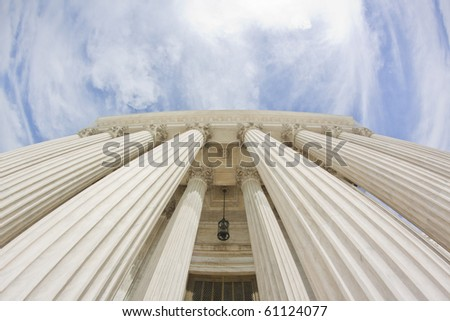 United States Supreme Court, Washington DC - stock photo