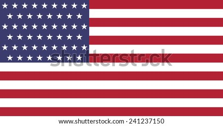 United States symbol. USA flag. Original and high quality - stock photo