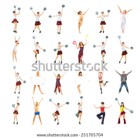 United we Act Sporty Concept  - stock photo